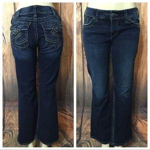 Silver Jeans Suki Surplus Boot Cut Jeans Sz 30X29 for sale